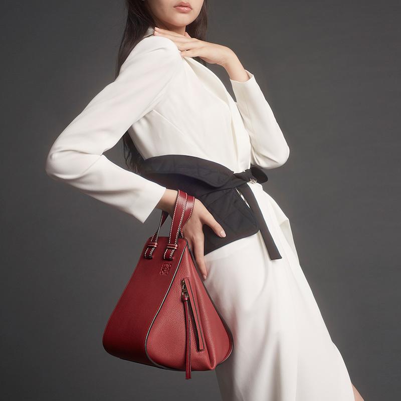 Loewe Hammock Small Calf Leather Bag