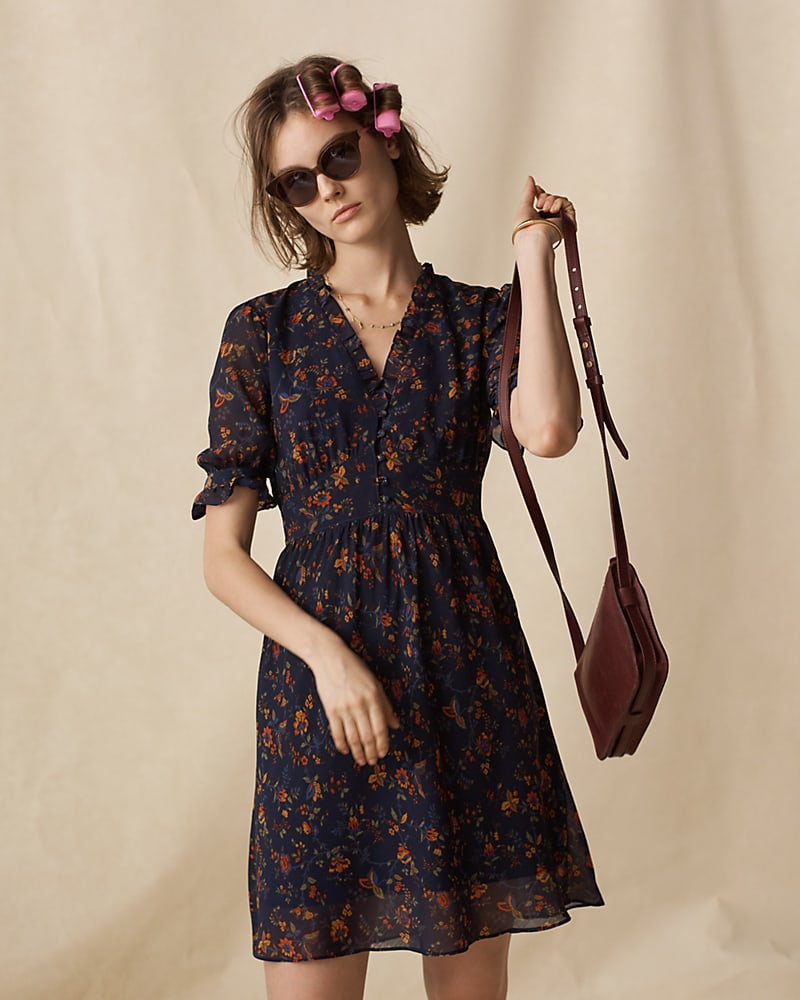 Madewell Freesia Dress In Climbing Vine