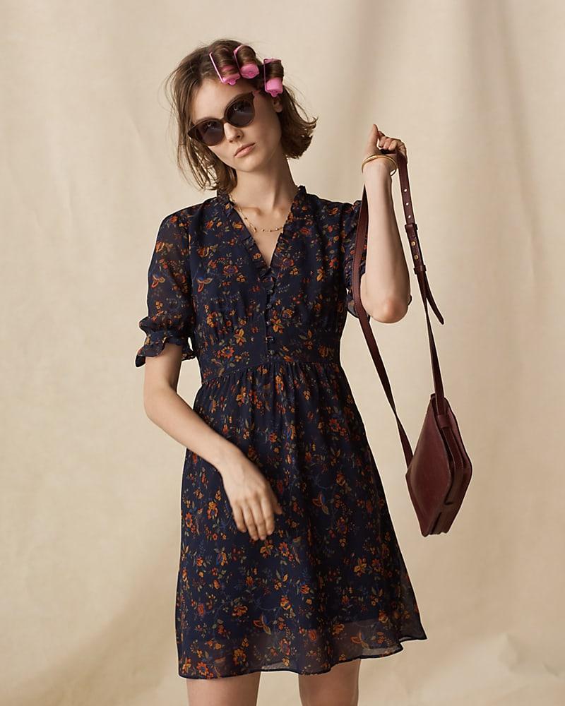 Madewell Freesia Dress In Climbing Vine