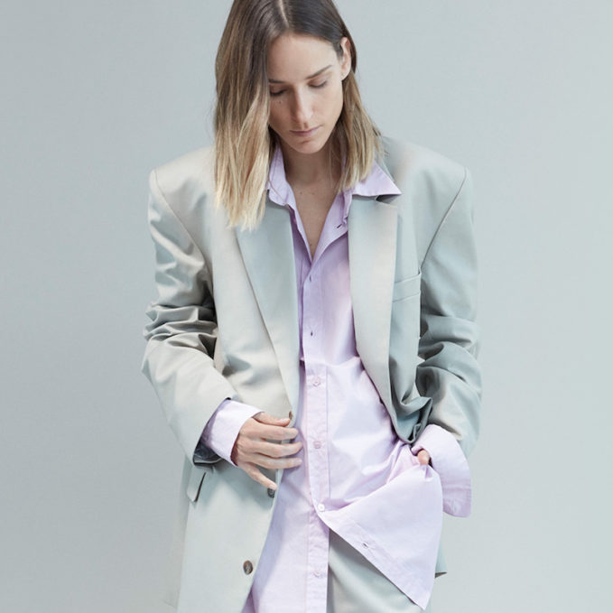 Martine Rose Oversized Notch-Lapel Blazer