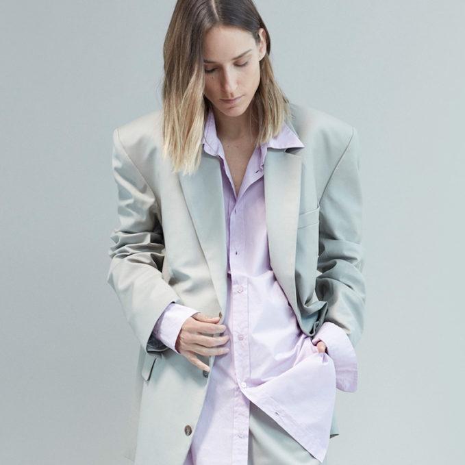Martine Rose Oversized Notch-Lapel Blazer