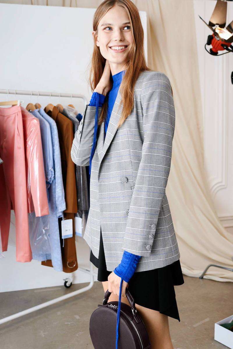 & Other Stories Oversized Double Breasted Blazer