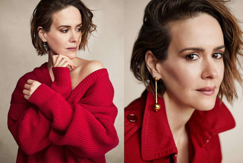 She Who Dares: Sarah Paulson for The EDIT