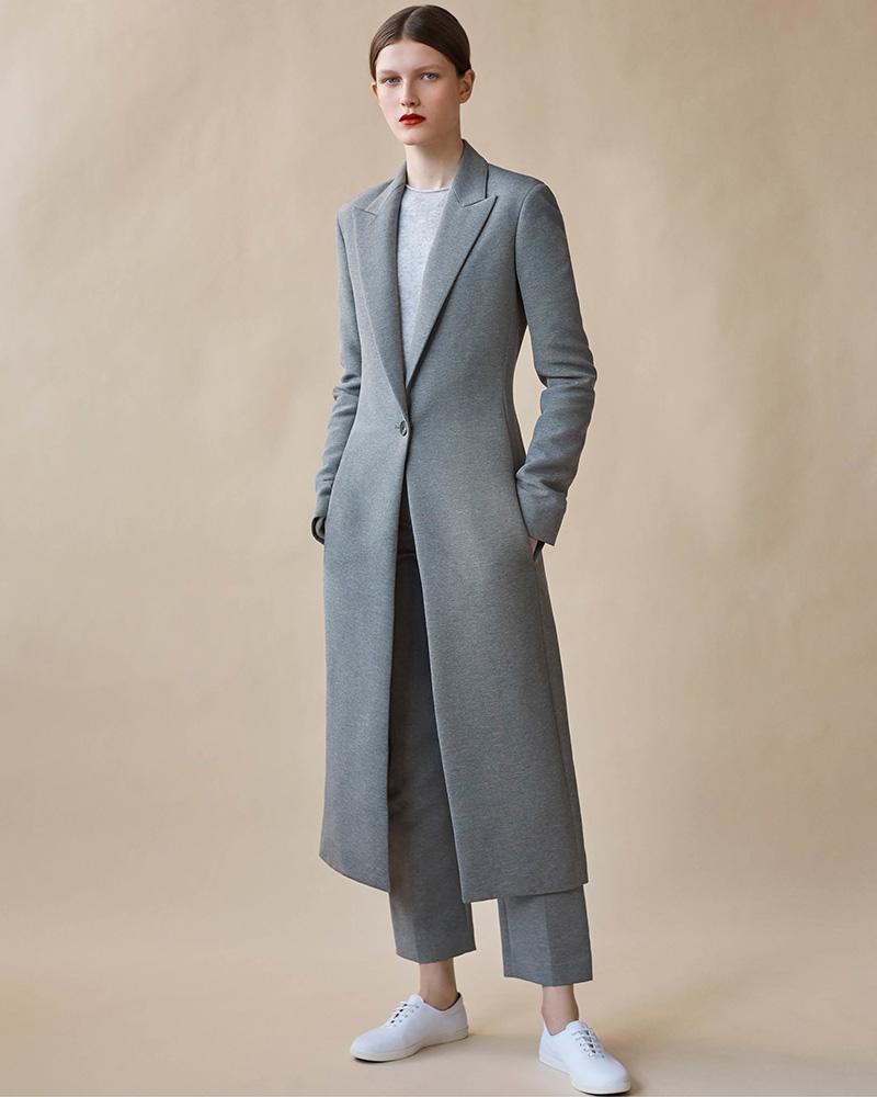 The Row Jilo Mélange Coat