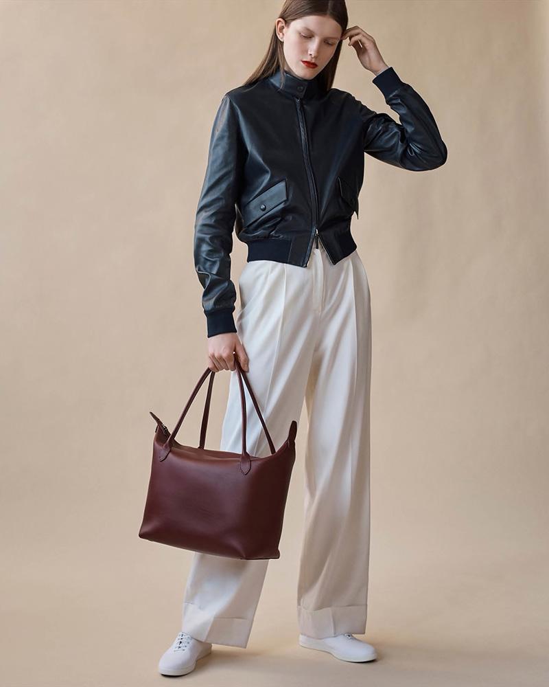 The Row Lian Wool-Blend Wide-Leg Trousers