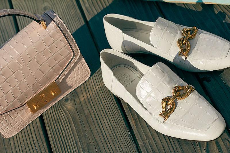 Tory Burch Jessa Horse Hardware Loafers