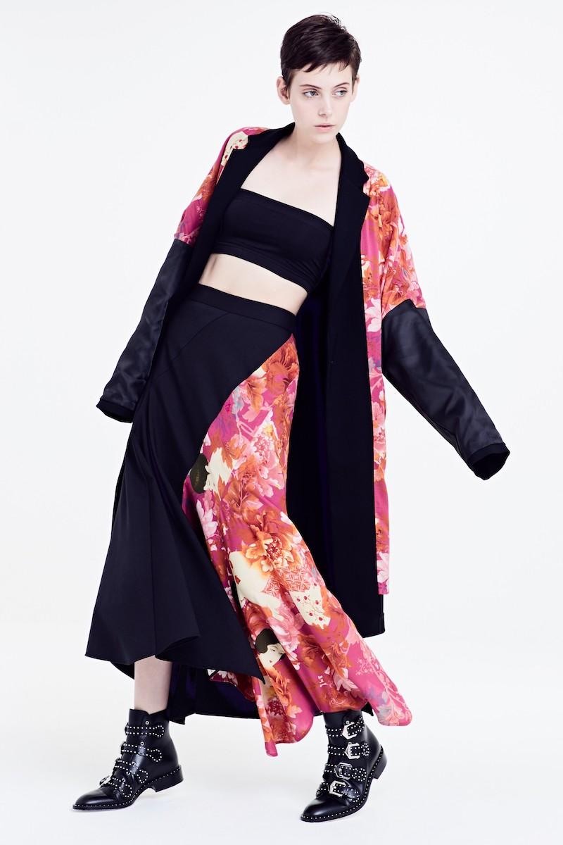 Y's by Yohji Yamamoto Reversible Coat