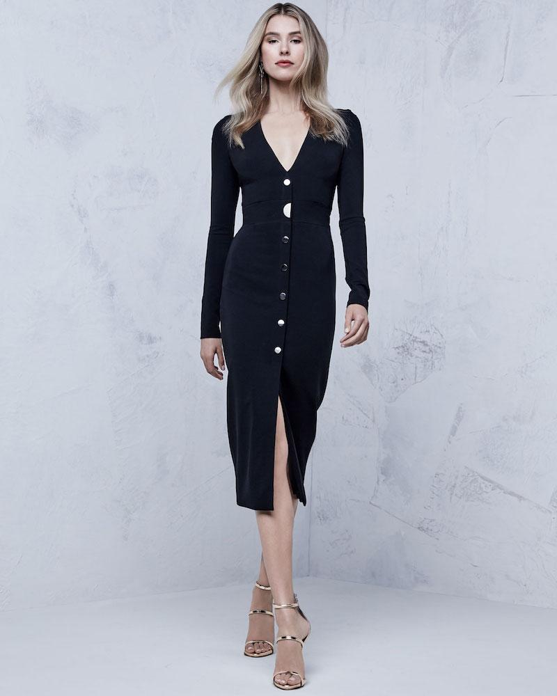 Cushnie et Ochs Paola Bustier Midi Dress