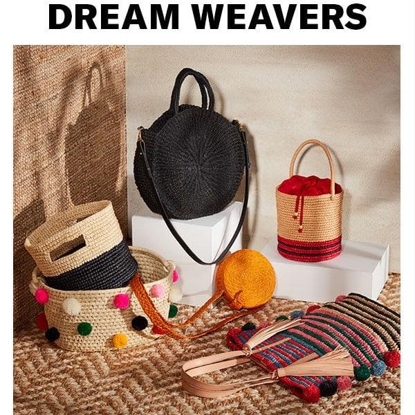 Dream Weavers: Best Woven Bags for Resort 2018