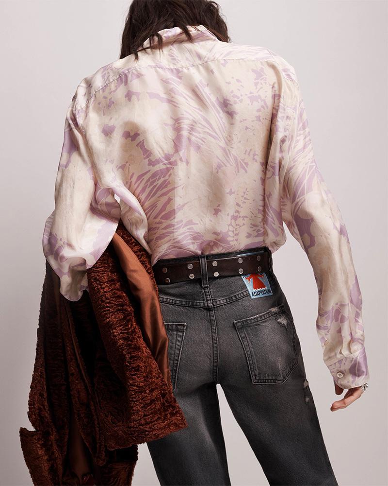 Dries Van Noten Charle Floral Cotton Poplin Shirt