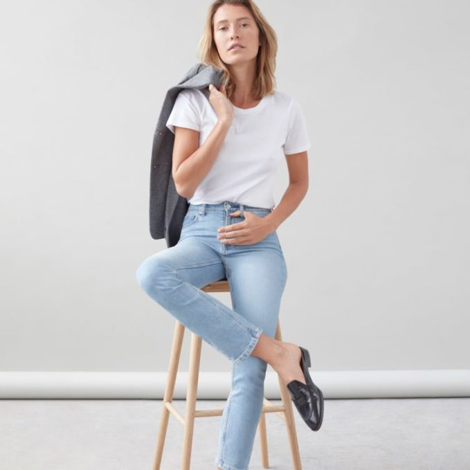 Everlane High-Rise Skinny Jean