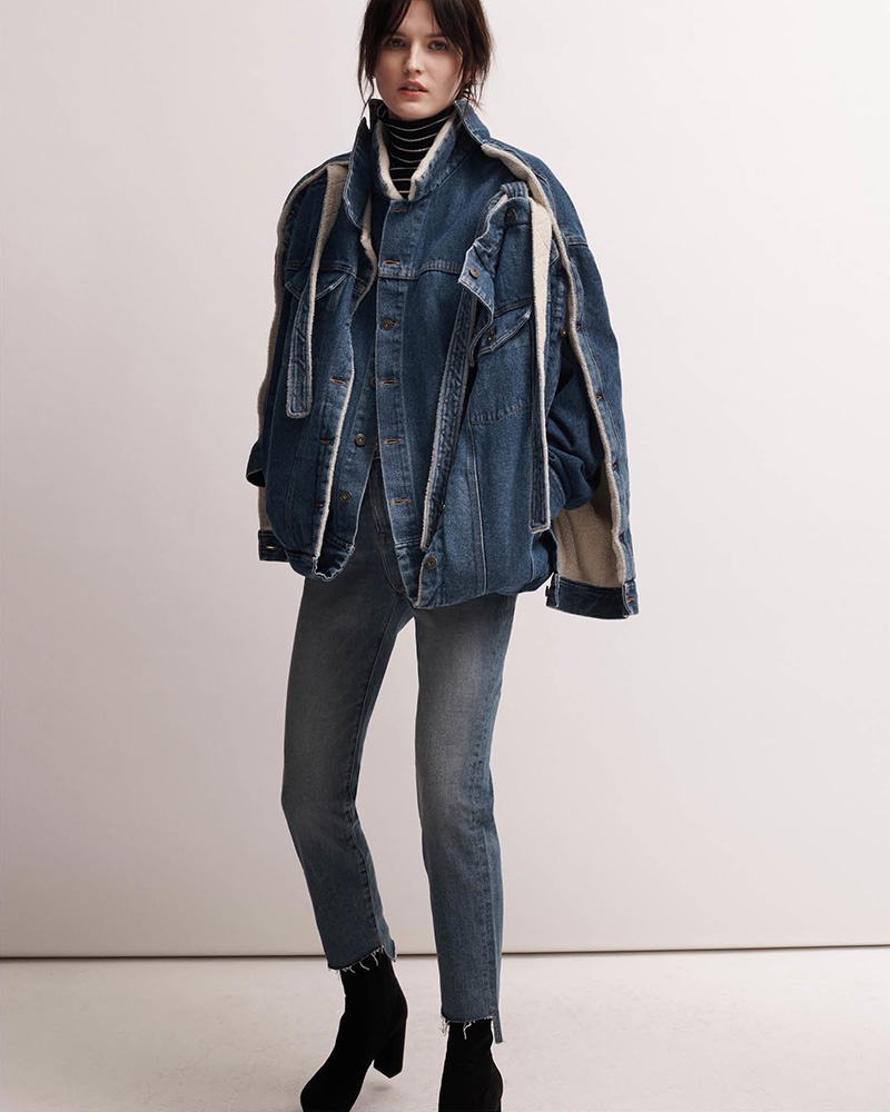 FRAME Le Boy Jean Raw Stagger Relaxed Jeans