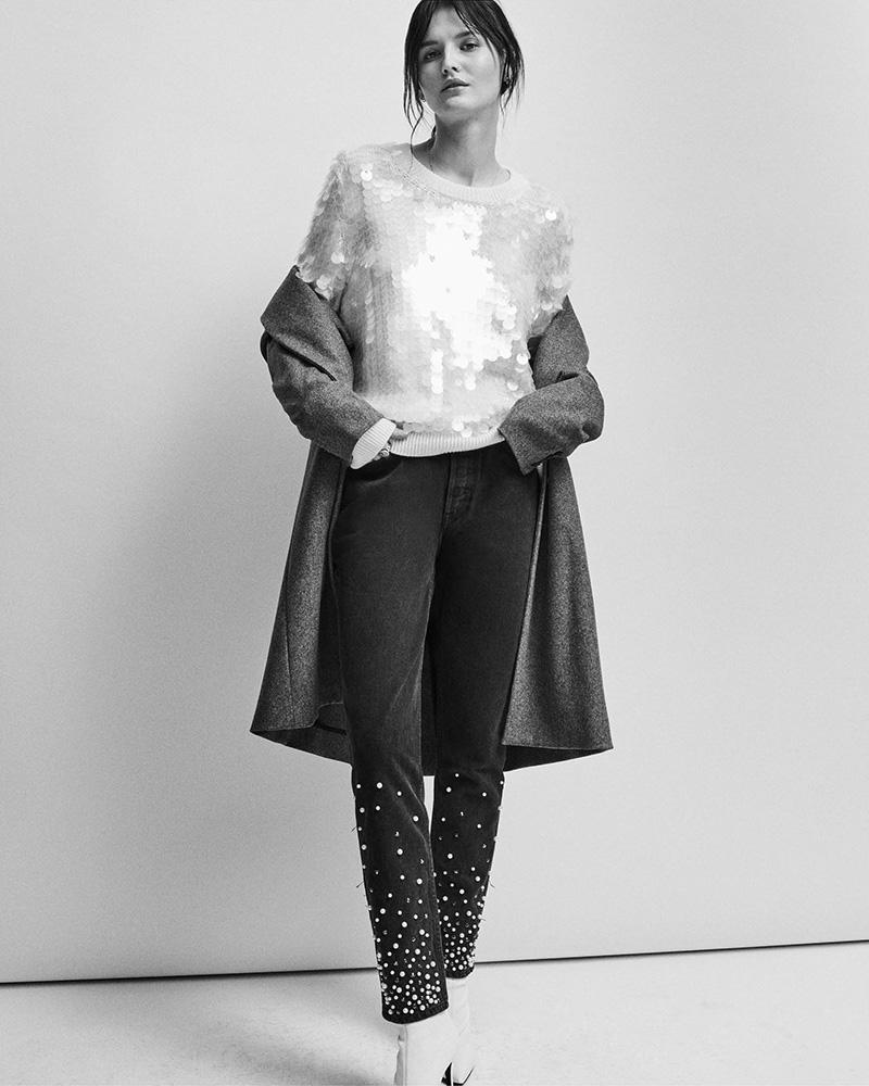GRLFRND thedrop@barneys: Karolina Embellished Skinny Jeans