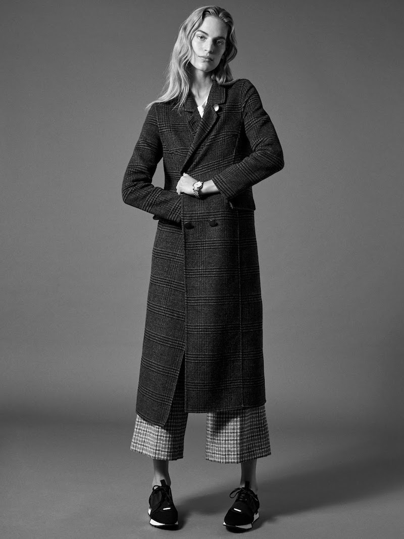 Ganni Abbey Brushed Wool-Blend Coat
