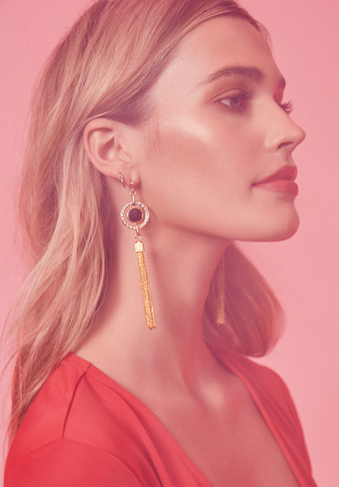 Haus Of Topper Tassel Earring