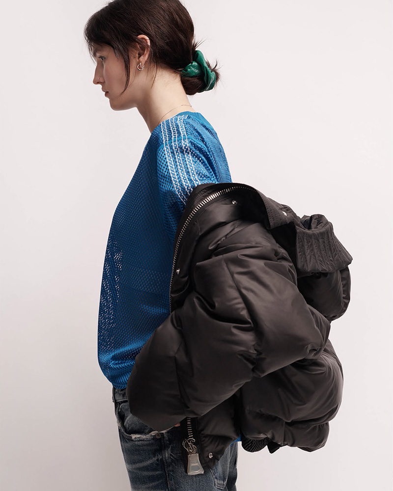 IENKI IENKI Dunlop Tech-Fabric Oversized Jacket