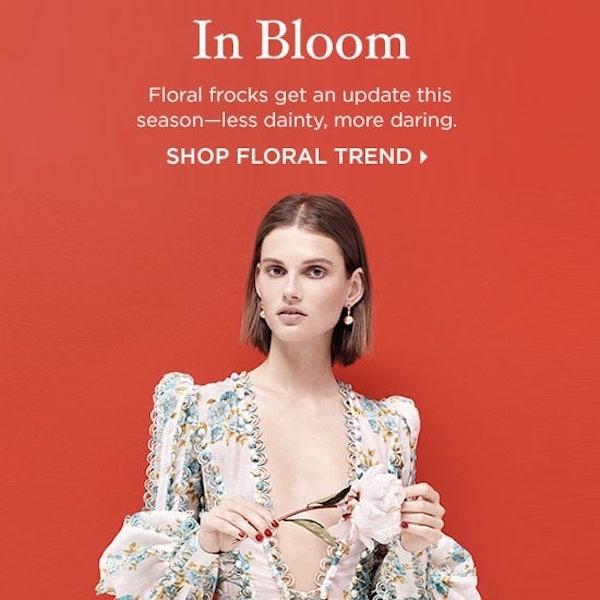 In Bloom: Resort 2018 Floral Trend