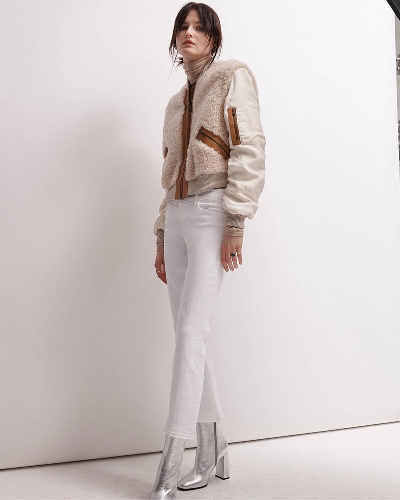 J Brand Selena Crop Flared Jeans