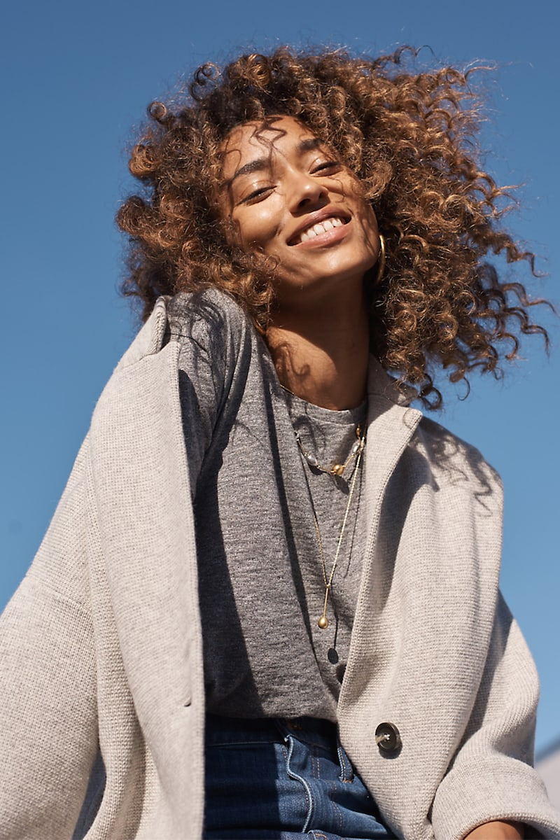 Madewell Blazer Sweater-Jacket