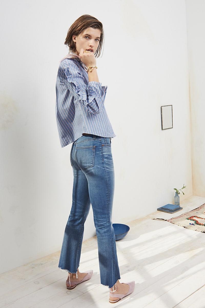 Madewell Cali Demi-Boot Jeans Destructed-Hem Edition