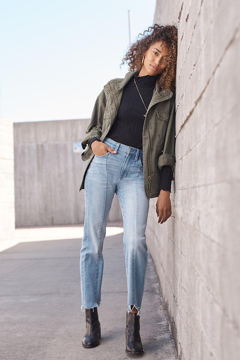 Madewell Cruiser Straight Jeans: Reconstructed Edition