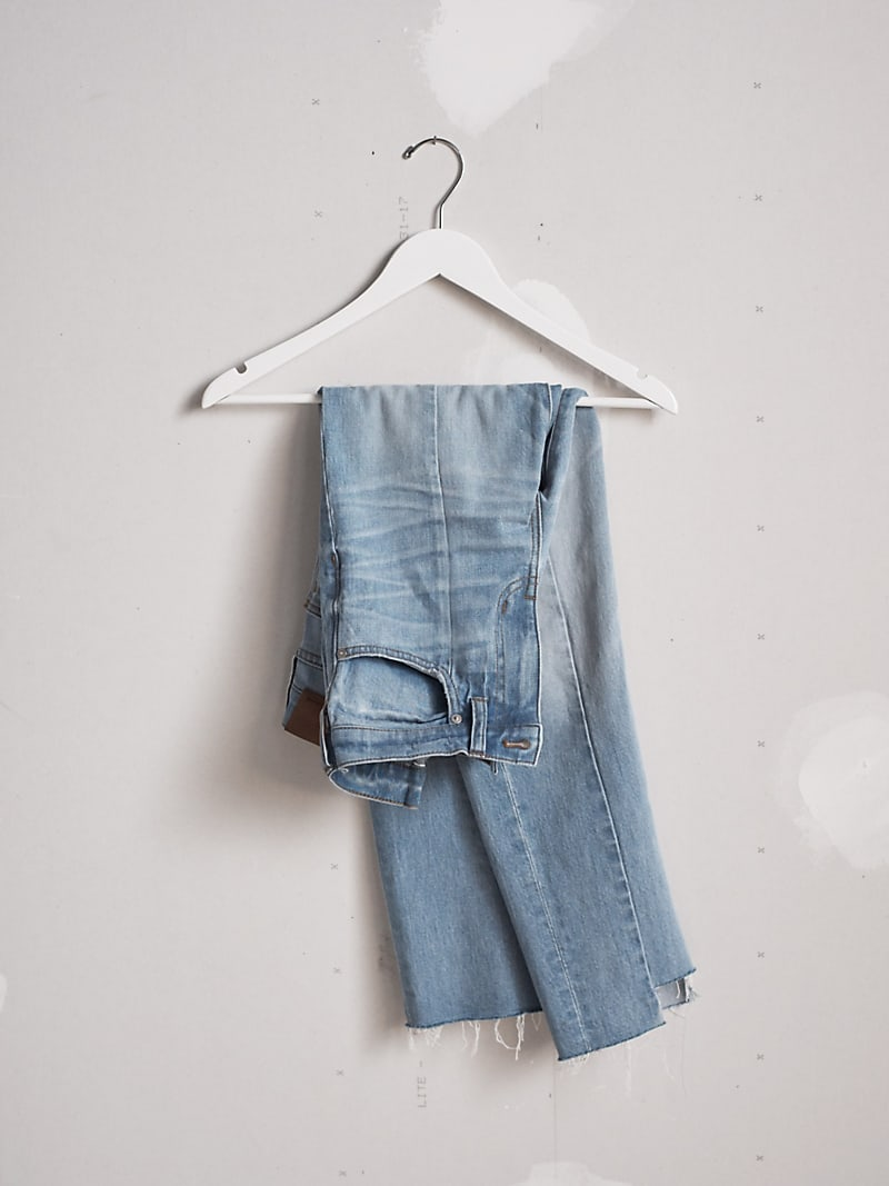 Madewell Cruiser Straight Jeans Reconstructed Edition