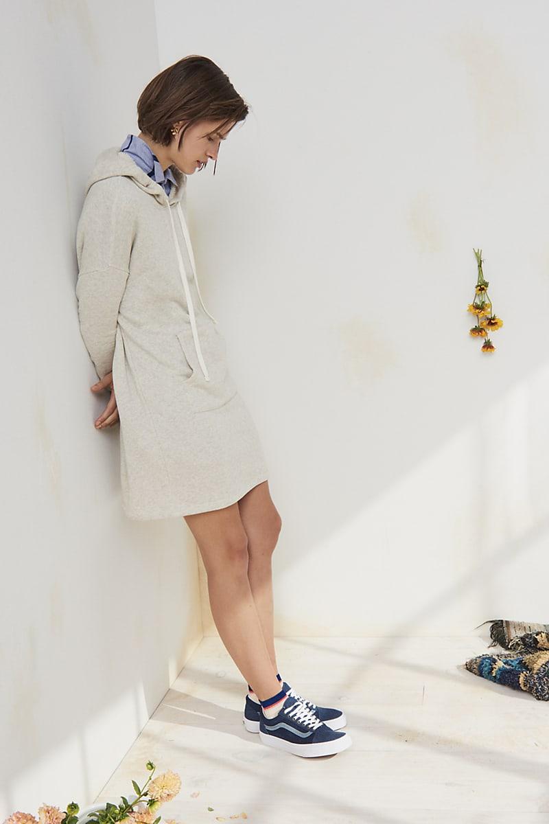 Madewell Hoodie Sweatshirt Dress