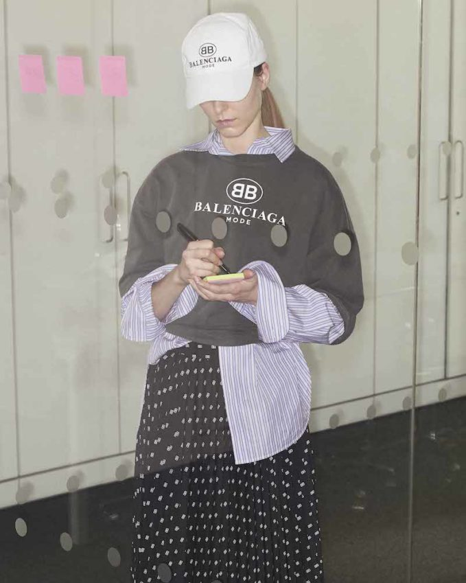 NET-A-PORTER Exclusive Balenciaga Oversized Printed Cotton-Jersey T-Shirt