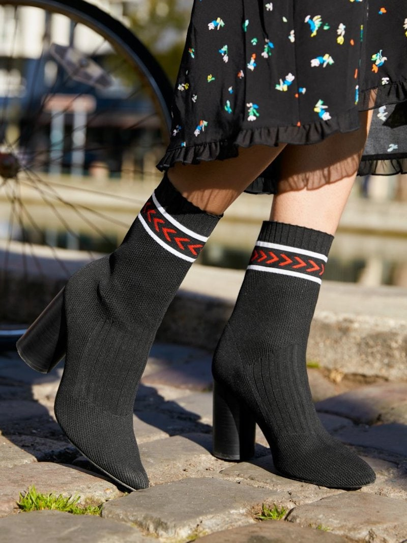& Other Stories Ankle Panel Sock Boots
