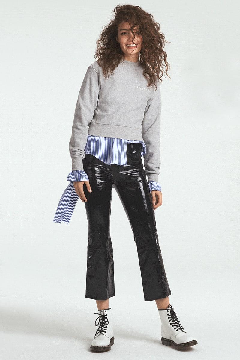 RE:DONE Reverse Weave Pullover Sweatshirt