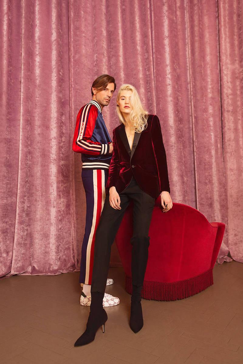 Saint Laurent Skinny Wool Gabardine Pants
