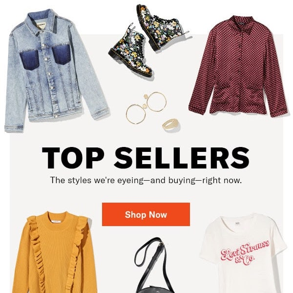 Shopbop Top Sellers January 29