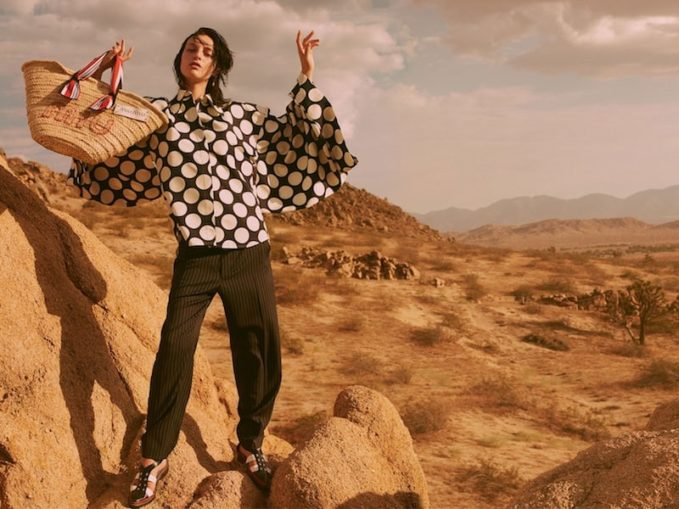 Stella McCartney Tapered-Leg Pinstriped Wool-Blend Trousers