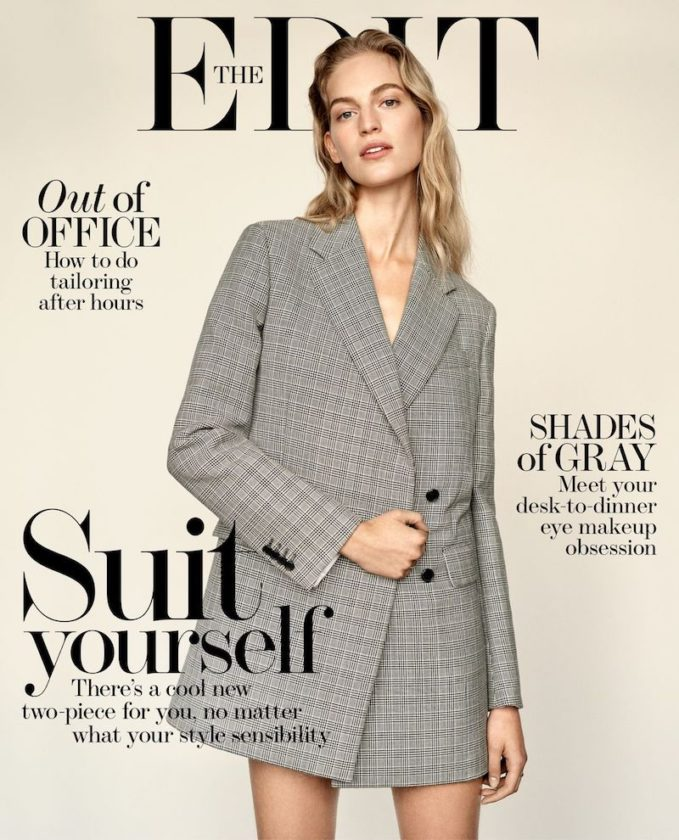 Suit Yourself: Vanessa Axente for The EDIT