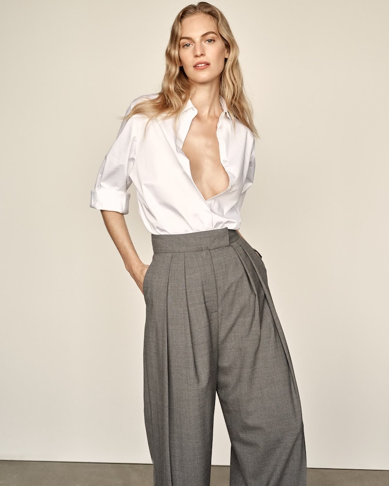 The Row Juliette Embroidered Cotton-Poplin Shirt