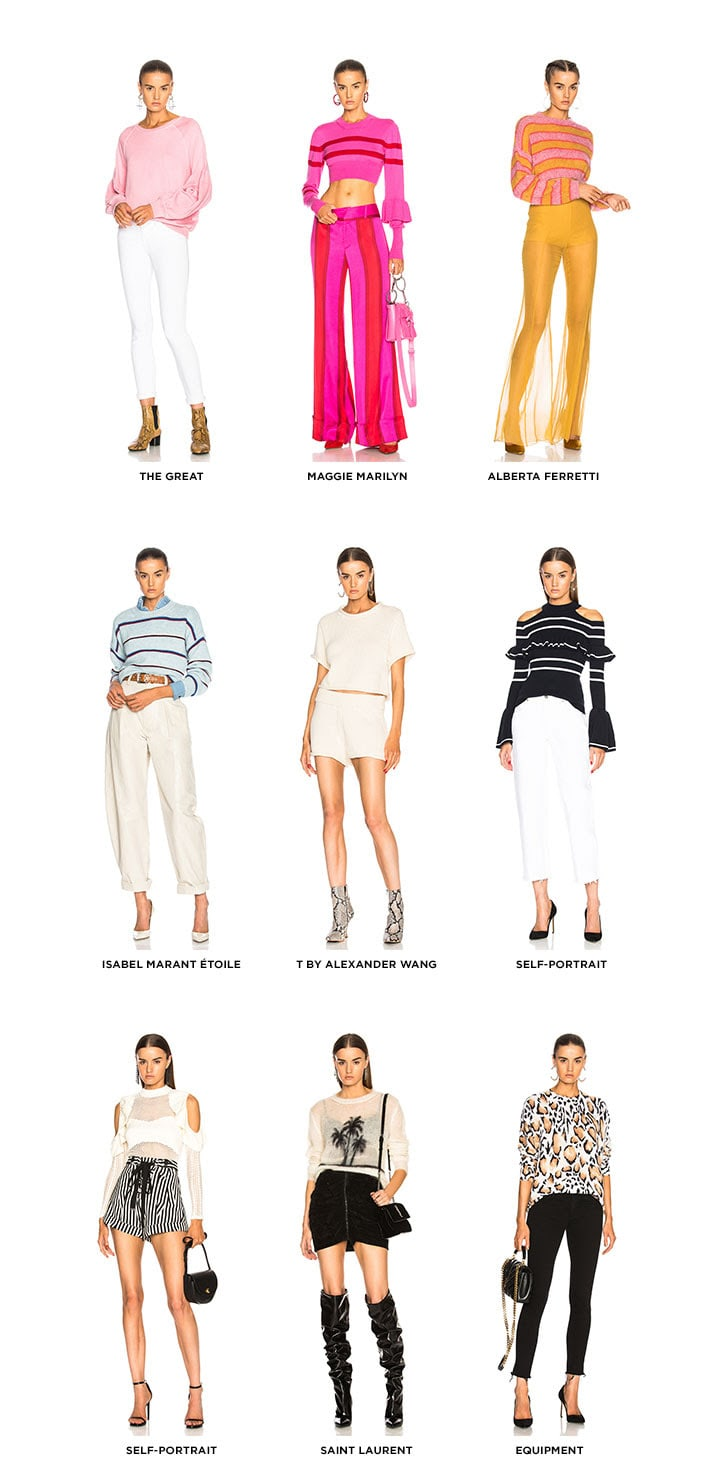Resort Knits - Get The Look