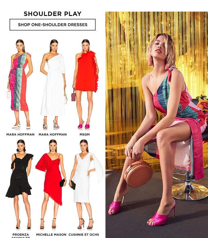 Shoulder Play - Shop One-Shoulder Dresses