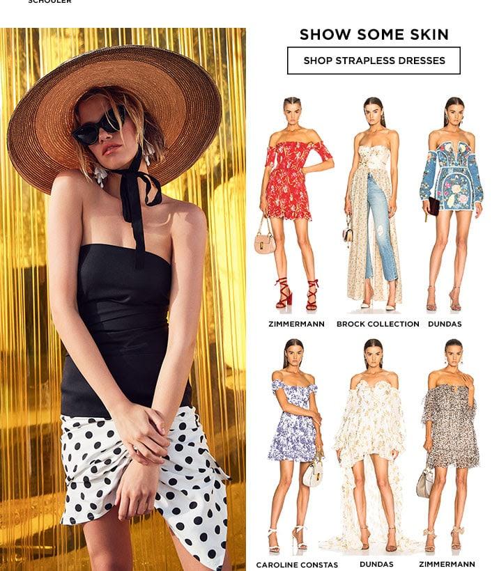 Show Some Skin - Shop Strapless Dresses