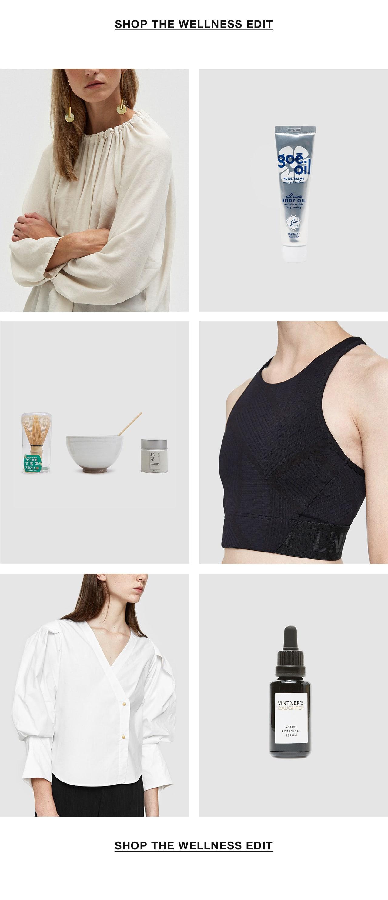 Shop The Wellness Edit