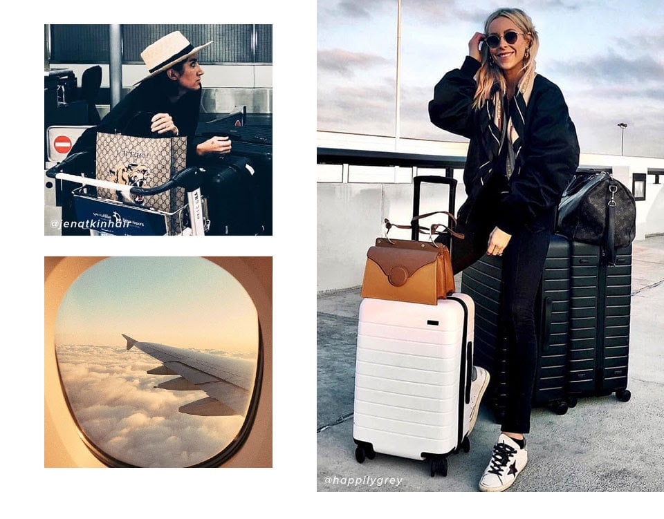 Luggage Check. Shop the Looks.