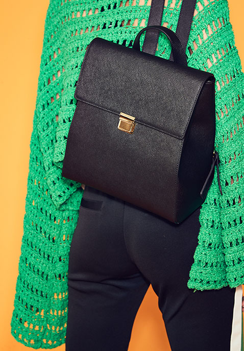 the daily edited Structured Backpack