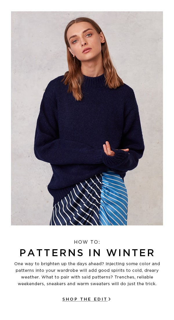 How To: Patterns in Winter