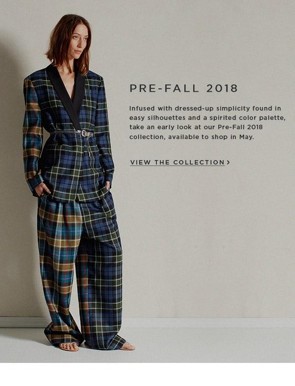 Pre-Fall 2018