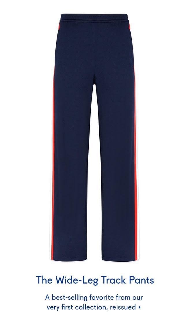 The Wide-Leg Track Pants