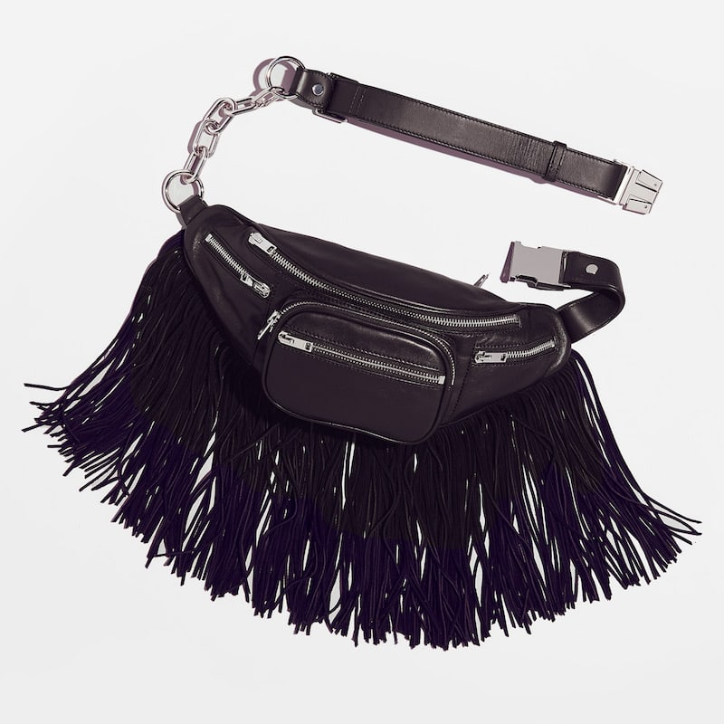 Alexander Wang Attica Fanny Pack with Soft Fringe