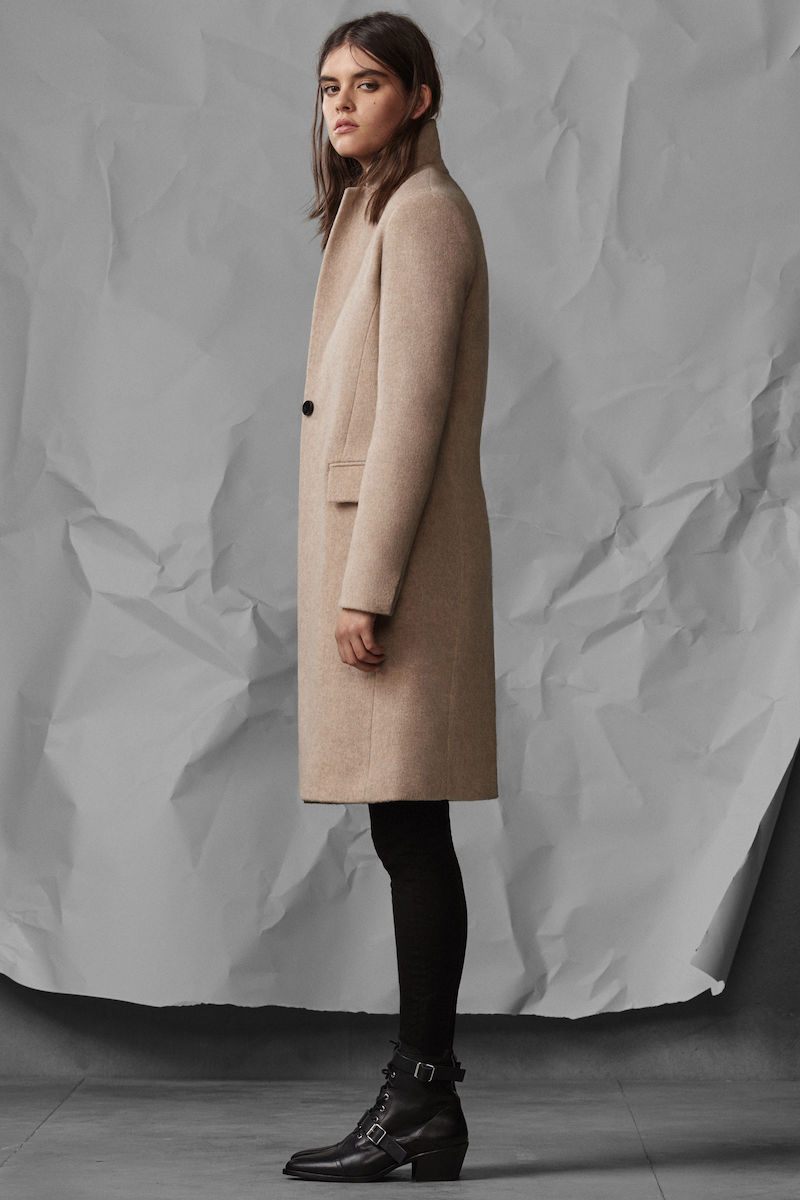 AllSaints Evelyn Comet Coat