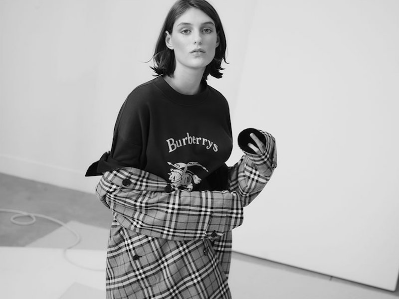Burberry House-Checked Reversible Coat