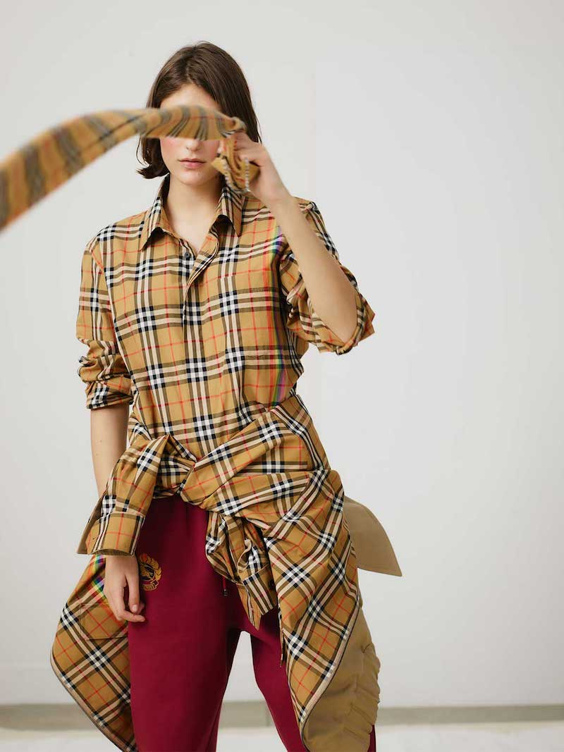 Burberry House-Checked Scarf