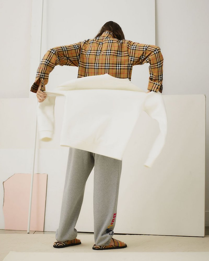 Burberry Logo-Print Cotton-Blend Track Pants