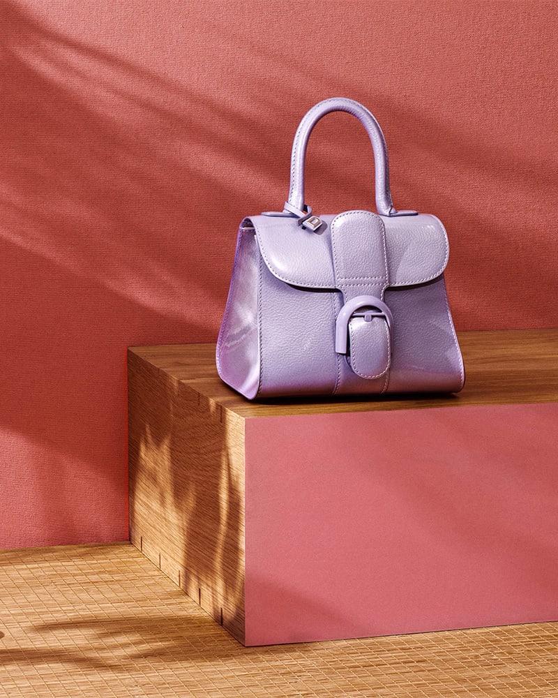 Delvaux Brillant Mini Leather Satchel